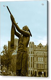 Native Pipe On The North Oval Acrylic Print