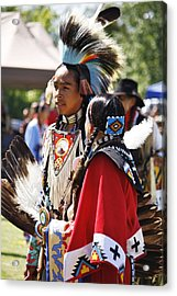 Acrylic Print featuring the photograph Native Pride Shines by Al Fritz