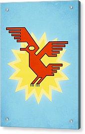 Native South American Condor Bird Acrylic Print