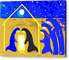 Nativity 2 Acrylic Print by Patrick J Murphy