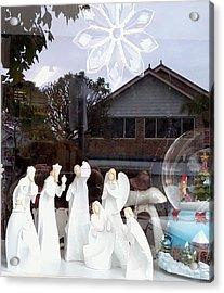 Nativity Acrylic Print by Adrianne Wood