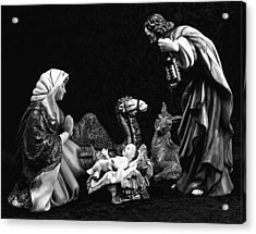 Acrylic Print featuring the photograph Nativity  by Elf Evans