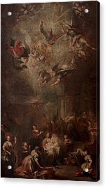 Nativity Of Mary Acrylic Print by Andrea Celesti