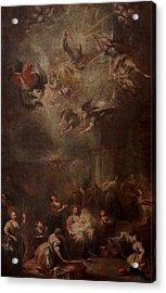 Nativity Of Mary Acrylic Print