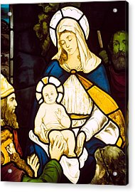 Nativity Acrylic Print by Robert Anning Bell