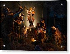 Nativity  Acrylic Print by Susan  McMenamin