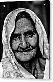 Natural Beauty Acrylic Print by Gautam Gupta