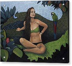 Natural Beauty Acrylic Print