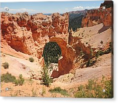 Natural Bridge At Bryce Canyon Acrylic Print