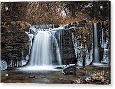 Natural Dam Winter Acrylic Print