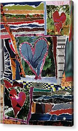 Natural Love Acrylic Print by Kenneth James