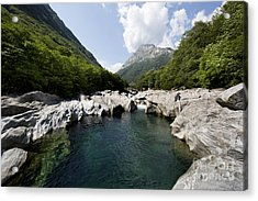 Natural Swimming Pool Acrylic Print by Maurizio Bacciarini
