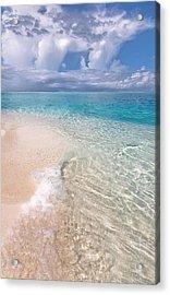 Natural Wonder. Maldives Acrylic Print
