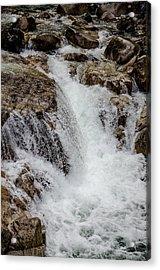 Naturally Pure Waterfall Acrylic Print