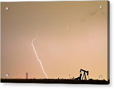 Nature - Power And Oil Acrylic Print