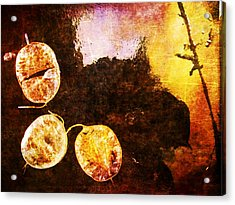 Acrylic Print featuring the digital art Nature Abstract 6 by Maria Huntley