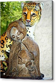Nature And Progress Acrylic Print by Bruce Iorio