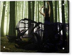Nature Goddess Acrylic Print by Fern Evans