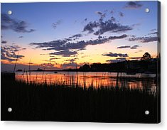 Nature In Connecticut Acrylic Print by Mark Ashkenazi