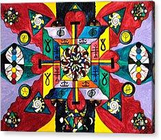 Nature Of Healing Acrylic Print