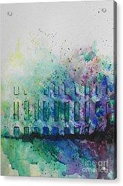 Natures Blend Acrylic Print by Chrisann Ellis