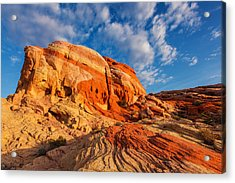 Nature's Blend Acrylic Print by James Marvin Phelps