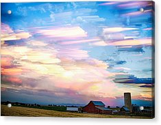 Nature's Country Painting Acrylic Print