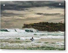 Natures Fury Surfers Paradise - Bondi Beach - Australia - Colour Acrylic Print