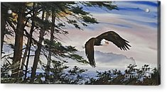 Natures Grandeur Acrylic Print by James Williamson