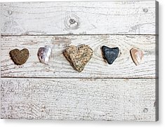 Nature's Hearts Acrylic Print by Art Block Collections