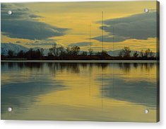 Natures Mirror Acrylic Print by Robert Reese
