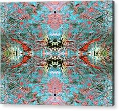 Crystallizing Energy Acrylic Print