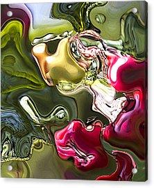 Naturescape Acrylic Print by Richard Thomas