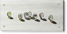 Naughty Beads Acrylic Print by Svetlana Sewell