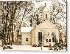 Nauraushaun Church Acrylic Print