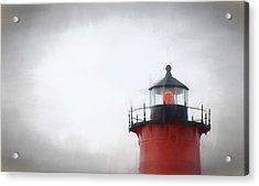 Nauset Lantern And Catwalk Acrylic Print
