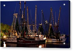 Nautical Blue Acrylic Print