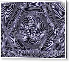 Nautical Coloured Design Acrylic Print
