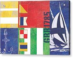 Nautical Flair I Acrylic Print by Paul Brent