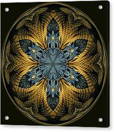 Nautical Star Acrylic Print by Cindi Ressler