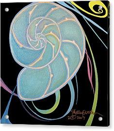 Nautilus Cross-section Acrylic Print