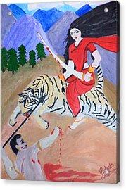 Nava Durga Kaatyayani Acrylic Print