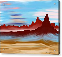Navajo Acrylic Print by Brian Johnson