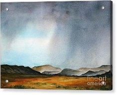 Navajo Storm Acrylic Print