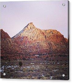 Navajo Winter Acrylic Print by Jake Harral