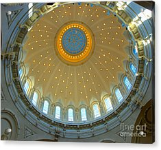 Naval Academy Chapel Side Dome Acrylic Print