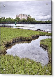 Naval Prison Acrylic Print by Eric Gendron
