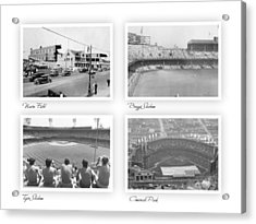 Navin Field Briggs Tiger Stadium Comerica Park Acrylic Print