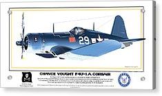 Navy Corsair 29 Acrylic Print