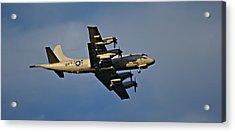 Navy P-3 Orion Turbo Prop Acrylic Print